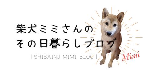 柴犬ミミさんのその日暮らしブログ